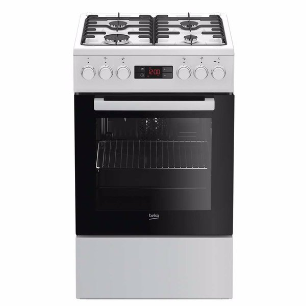 Beko fornuis FSE52322DWNL STEAM CLEAN